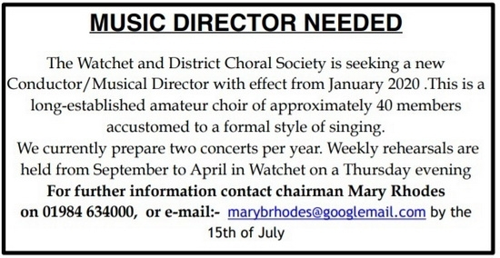 Music Director needed